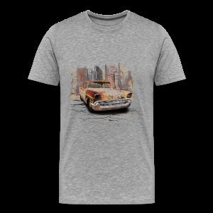 Mannen Premium T-shirt met auto - Mannen Premium T-shirt