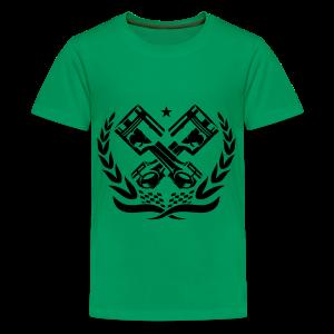 Teenager Premium T-shirt met zuigers - Teenager Premium T-shirt