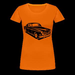 Vrouwen t-shirt met auto - Vrouwen Premium T-shirt