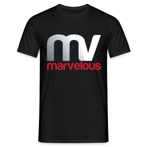 Marvelous Black (man) - Mannen T-shirt