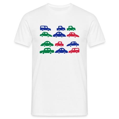 Lots of Cars - Men's T-Shirt