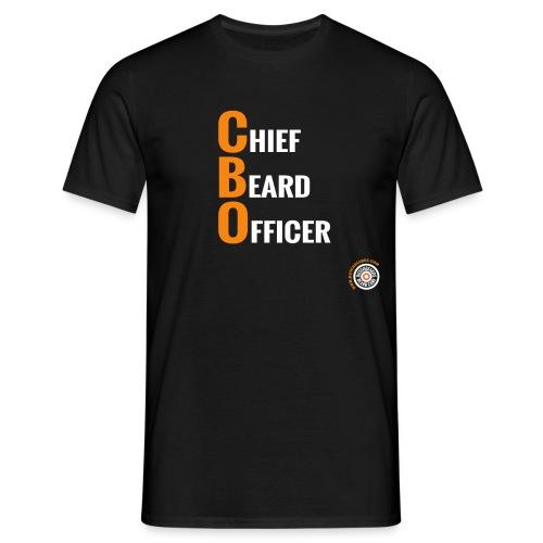 Chief Beard Officer - Mannen T-shirt