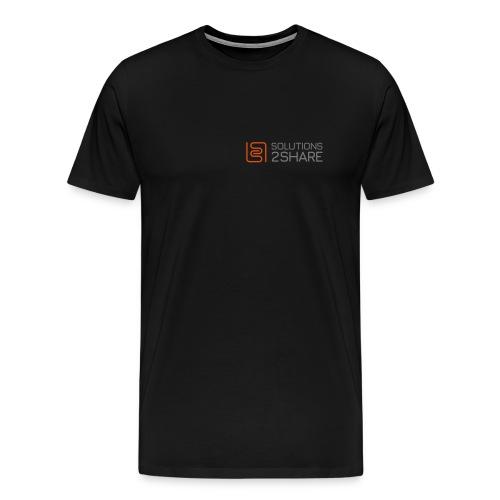 Front / long / small - Männer Premium T-Shirt