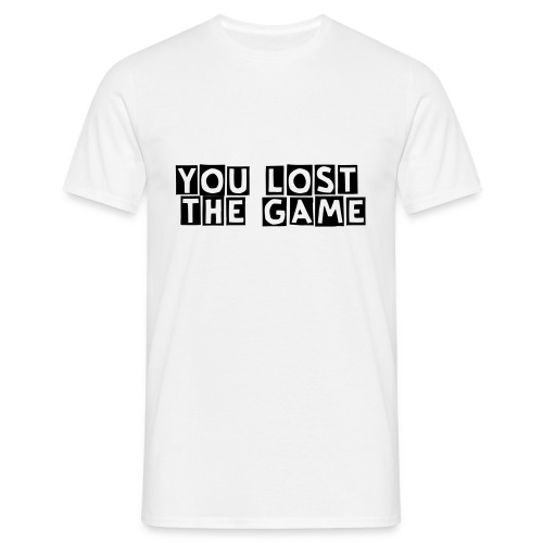 You lost the game - Men's T-Shirt