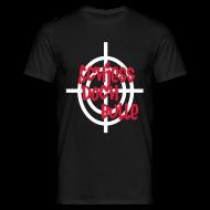 T-Shirts ~ Männer T-Shirt ~ Schwarz schiesss_doch_bulle T-Shirts