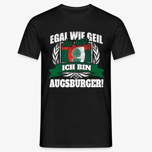 Ich bin Augsburger Shirt - Männer T-Shirt