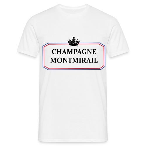 T-shirt Le Montmirail - T-shirt Homme