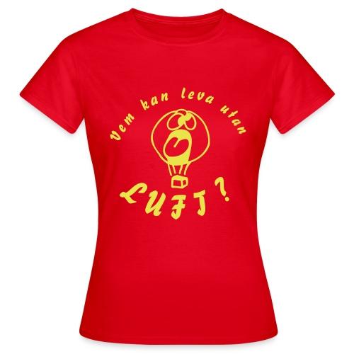 T-shirt: Dam - T-shirt dam