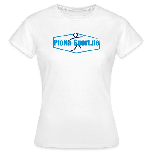 PFoKa Logoshirt (Frauen) - Frauen T-Shirt