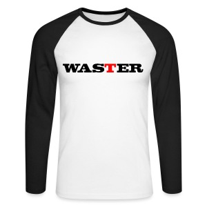 Waster - Men's Long Sleeve Baseball T-Shirt
