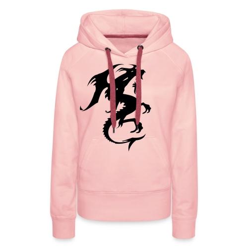 drage genser - Premium hettegenser for kvinner