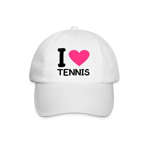 I love tennis - Baseballcap