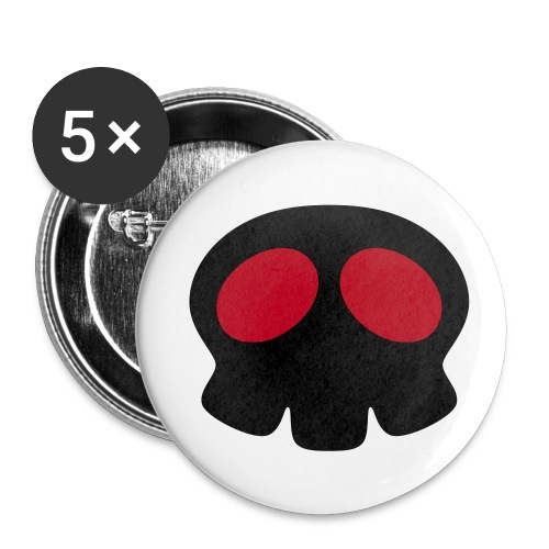 anime skull pins - Buttons small 25 mm