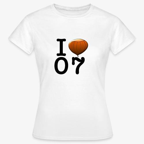 I Love 07 - T-shirt Femme