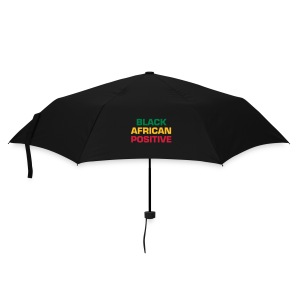Umbrella Black African Positive - Black, red, yellow or green - Umbrella (small)