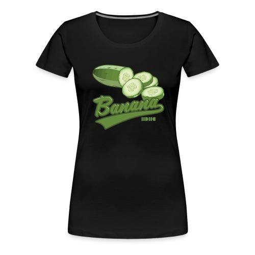 Cucumber - Premium-T-shirt dam