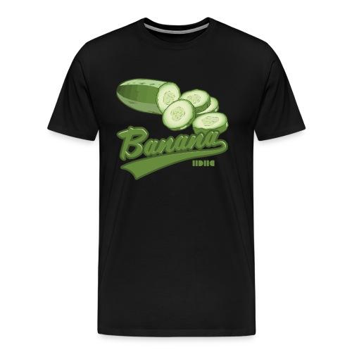 Cucumber - Premium-T-shirt herr