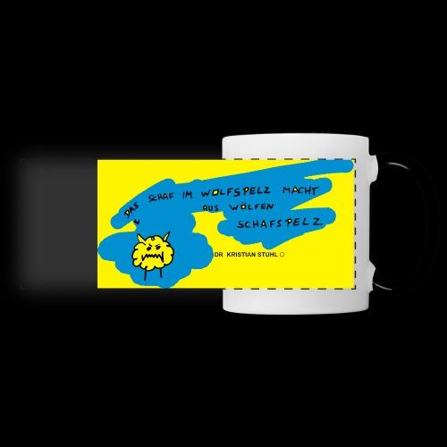 Schafswolf - Panoramatasse