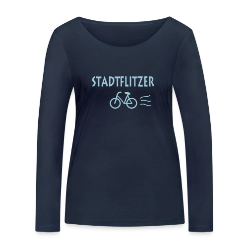 Frauen Bio Shirt: Stadtflitzer - Frauen Bio-Langarmshirt von Stanley & Stella