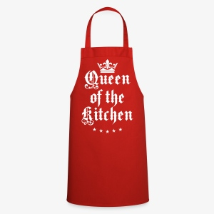 Queen of the Kitchen Cook Star Krone Crown Schürze 06 - Kochschürze