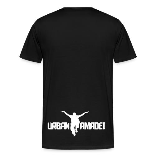 Urban Amadei T-Shirt 2018 black - Männer Premium T-Shirt