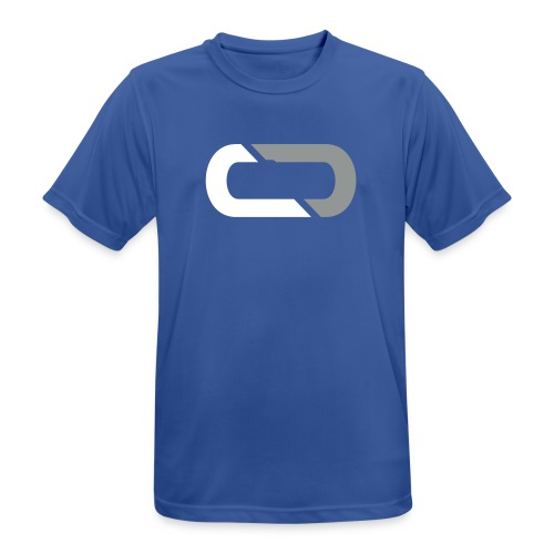 COREDial Blue - Men's Breathable T-Shirt