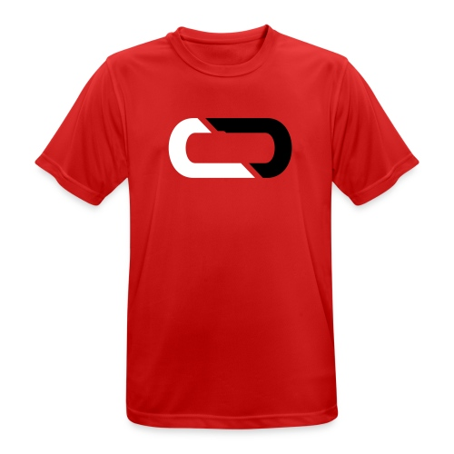 COREDial Red - Men's Breathable T-Shirt