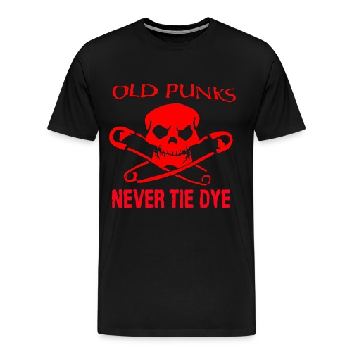 No tie dye - Men's Premium T-Shirt