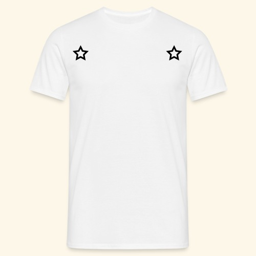 Two stars tattoo style - T-shirt Homme