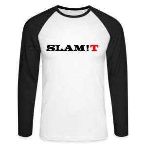 SLAM!T - Men's Long Sleeve Baseball T-Shirt