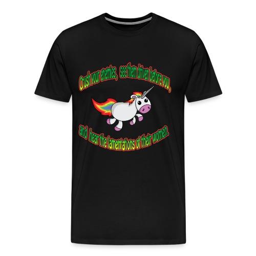 Crush your unicorn - Men's Premium T-Shirt