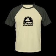 T-Shirts ~ Männer Baseball-T-Shirt ~ Männer Baseballshirt Flimmerfreunde