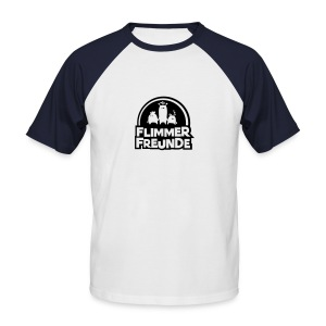 Männer Baseballshirt Flimmerfreunde - Männer Baseball-T-Shirt
