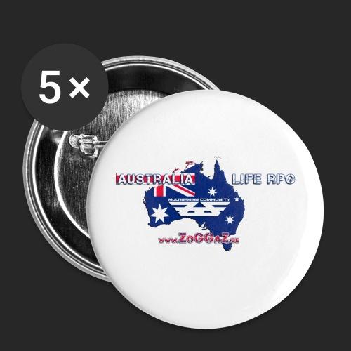 5 Buttons - Buttons groß 56 mm