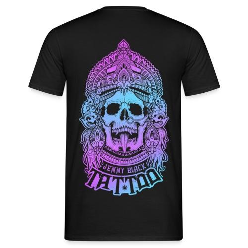 Jenny Black Beidseitiger Druck - Männer T-Shirt