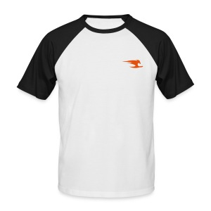 Men's Baseball T-Shirt - Men's black and white baseball shirt. We have baseball shirts in all colours and sizes. Great designs and great prices at Urban Free.