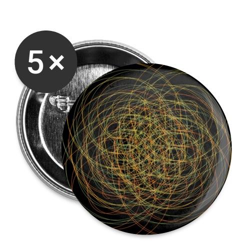 Chaos ist Ordnung - Buttons klein 25 mm (5er Pack)