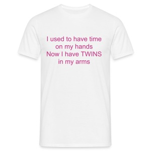 I USED TO HAVE TIME ON MY HANDS (SM TO XXXL) - Men's T-Shirt