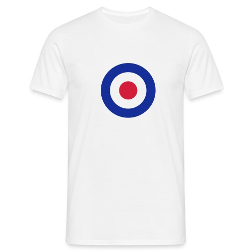 max raf white - Men's T-Shirt