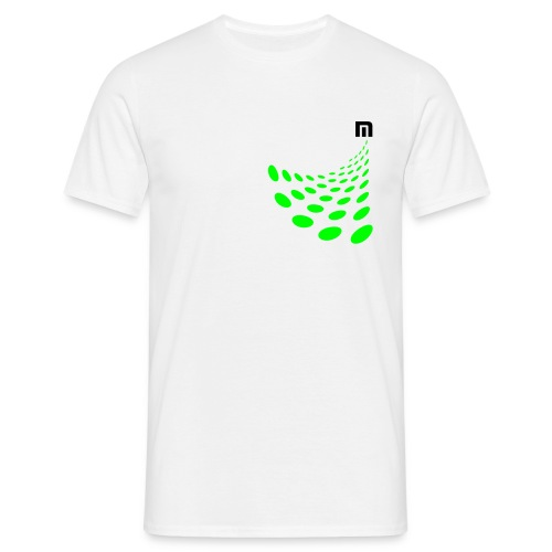 max vision white - Men's T-Shirt