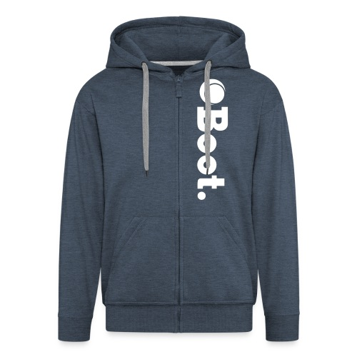 Mixed Design Zip up hoodie - Men's Premium Hooded Jacket