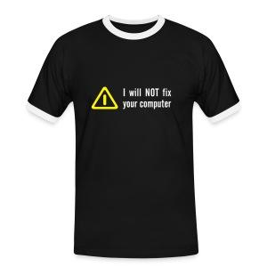 'No Fix' Shirt - Men's Ringer Shirt