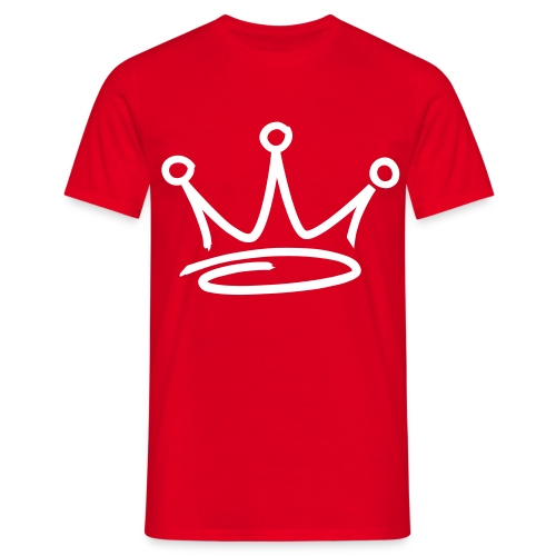 GET BUSY RED TEE - Men's T-Shirt