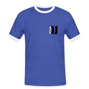 Basic originality T-shirt - Mannen contrastshirt