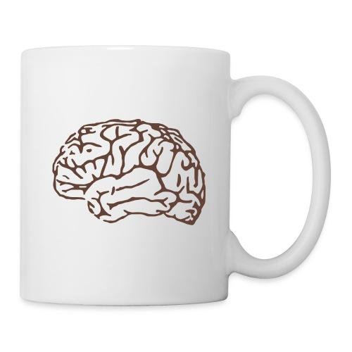 Grappige Mok met afbeelding van de hersenen - Mok