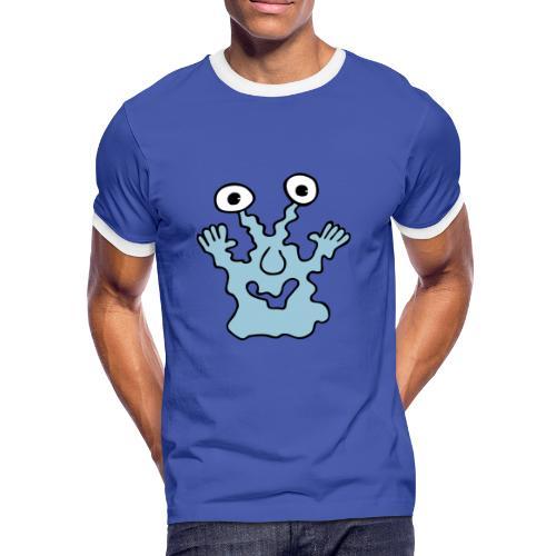 monsterretroshirt - Männer Kontrast-T-Shirt