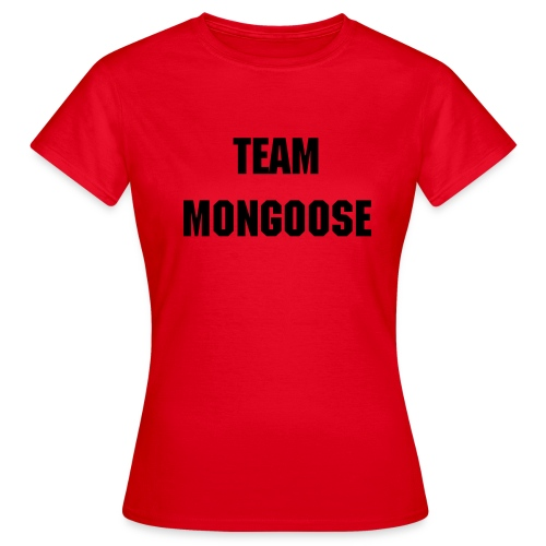 Team_Mongoose_W2 - Women's T-Shirt