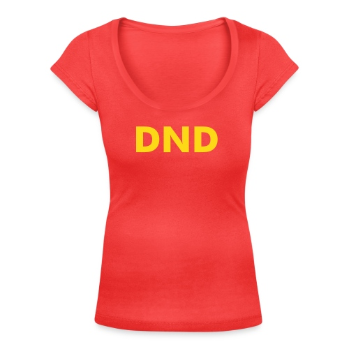 Women's DND T-Shirt  | wowtees - Women's Scoop Neck T-Shirt