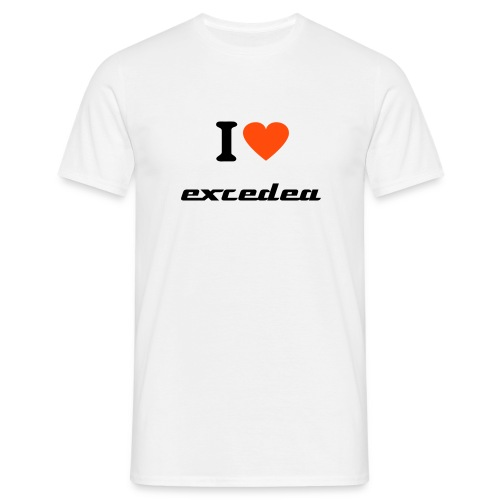 Love Excedea - Men's T-Shirt