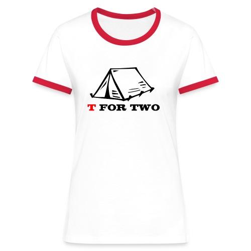 T for Two - Women's Ringer T-Shirt